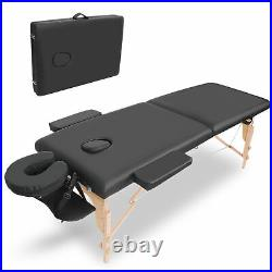 Lightweight Portable Folding Massage Table Beauty Salon Health Care Couch Bed