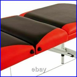 Lightweight Portable Massage Table Bed 3 Section SPA Couch Beauty Therapy Tattoo