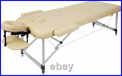 Lightweight Portable Massage Table Couch Bed Plinth Therapy Salon Reiki Healing