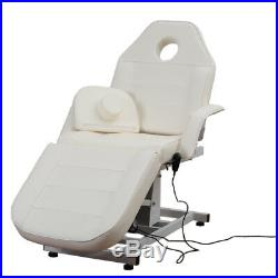 Massage Bed Electric Hydraulic Recliner Beauty Salon Chair Tattoo Couch with Stool