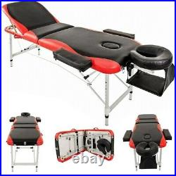 Massage Table Couch Bed Aluminium Deluxe Lightweight Professional Carrying Bags
