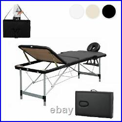 Massage Table Portable Folding Lightweight Beauty Salon Tattoo Therapy Couch Bed