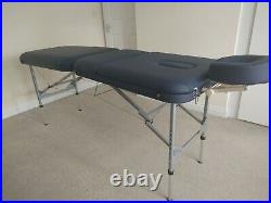 Massage Table Spa Bed Portable Adjustable Folding Beauty Salon Therapy Couch