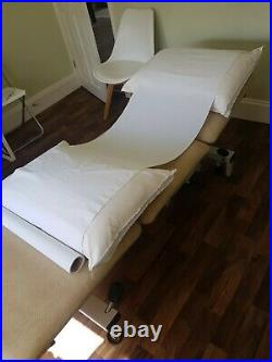 Massage therapy beauty physio treatment bed couch Plinth 2000 used VGC hydraulic