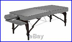 Master 70CM Montour Portable Massage Table Therapy Beauty Bed Couch Dove Grey