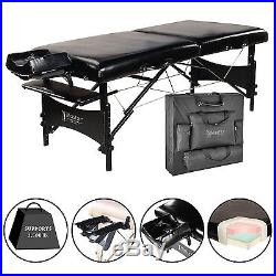 Master 70cm Galaxy Memory Foam Portable Massage Table Therapy Bed Beauty Couch