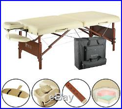 Master 76 cm Del Ray Portable Massage Table Beauty Bed Couch Package Sand