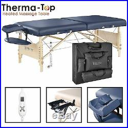 Master Massage 70cm Coronado Therma Top Table Portable Therapy Beauty Bed Couch