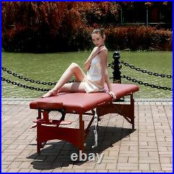 Master Massage 70cm Fairlane Therma Top Portable Massage Table Therapy Couch Bed
