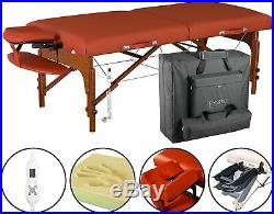 Master Massage 70cm Santana Therma-Top Portable massage Table Beauty Couch Bed
