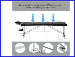NEW Portable Massage Table Lightweight Plinths Bed Beauty Couch Beds Physio