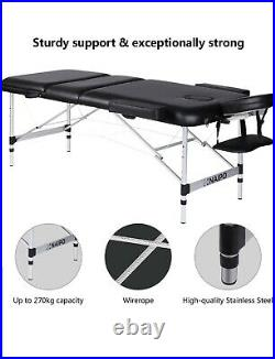 Naipo Massage Bed Beauty Table Couch Widths 27.56in Deluxe Professional