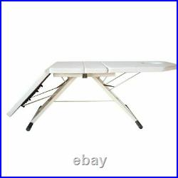 PVC Folding Massage Table Beauty Chair Therapy Chair Couch Salon Tattoo Bed UK
