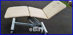 Plinth hydraulic physiotherapy Massage, examination, treatment table, bed, couch