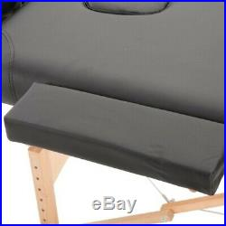 Portable Folding Beauty Massage Bed Table Salon Therapy Tattoo Couch Lightweight