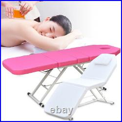 Portable Folding Massage Table Bed Spa Therapy Beauty Salon + 3 Sections Couch