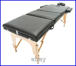 Portable Massage Lightweight Table Couch Beauty Therapy Bed Spa Tattoo