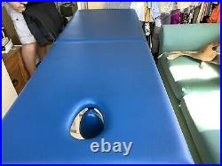Portable folding beauty massage bed couch table
