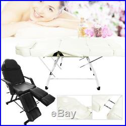 Pro Extended Massage Chair Table Couch Spa Bed Manicure Pedicure Bench Deck New
