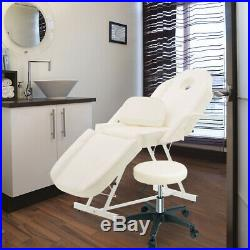 Pro Massage Bed Beauty Couch Bed Facial Tattoo Treatment Beds with Swiveling Stool