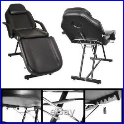 Professional Beauty Massage Chairs Facial Pedicure Beds Manual Couch withFootstool