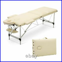 Professional Lightweight Portable Massage Table Bed Reiki Couch Eyelash Beauty