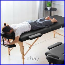 Professional Massage Table Portable Beauty Salon Couch Bed Equipment Adjustable