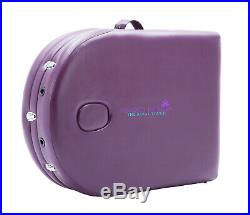 Purple Alu Lite Portable Massage Table Bed Spa Reiki Couch Beauty Therapy Pad