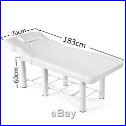 Reclinable Massage Table Beauty Salon Spa Bed Therapy Relax Couch Steel Frame UK
