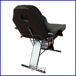 Recliner Adjustable Beauty Table Steel Stand Keep-fit Massage Bed Therapy Couch
