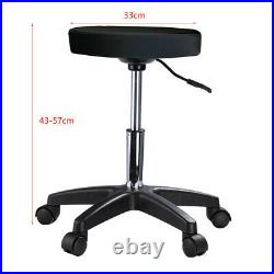 Recliner Beauty Salon Bed Massage Table Tattoo Spa Couch Chair With Stool Black UK
