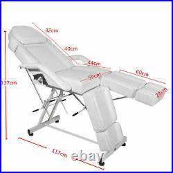 Reclining Beauty Salon Chair Massage Table Bed Manicure Pedicure Tattoo Couch