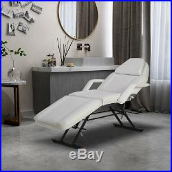 Reclining Beauty care Table Salon Tattoo Therapy Facial Couch Bed Chair Stool