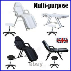 Reclining Massage Table Beauty Bed Salon Spa Couch Chair Stool Facial Therapy