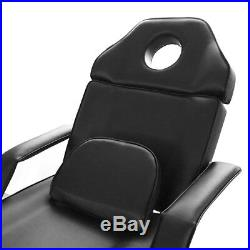 Reclining Massage Table Salon Beauty Chair Couch Bed Treatment Tattoo Manicure