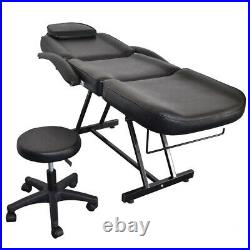 Salon Facial Hydraulic Chair Table Beauty Massage Tattoo Therapeutic Couch Bed