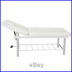 Shelf Storage Massage Table Bed Beauty Therapy Couch SPA Tatoo Salon Sturdy Deck