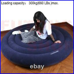 TOUGHAGE Amazing Inflateable Pillow Love Bed Sofa Life Raft Kit +Cuffs/Bump Free