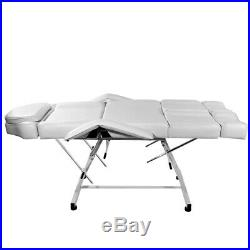 Tattoo Studio Chair Massage Table Massage Couch Salon Spa Bed Extended Foot Rest