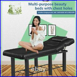 UK Beauty Bed Couch Massage Salon Table Physio Tattoo Removable Headrest