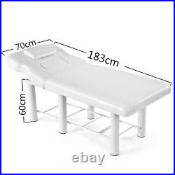 UK Massage Table Facial Spa Beauty Bed Tattoo Salon Therapy Couch with Chest Holes