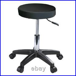 Upgrade Massage Couch Bed & Stool Beauty Salon Table Chair Tattoo Therapy Black