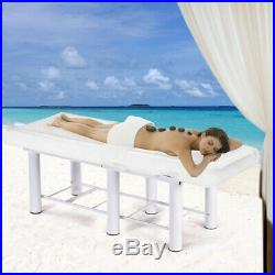 White Beauty Bed Couch Balance Massage Salon Chair Physio Tattoo Relax Spa Table