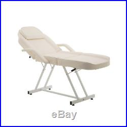 Wido MANUAL CREAM MASSAGE COUCH LEATHER BED BEAUTY THERAPIST TREATMENT CHAIR