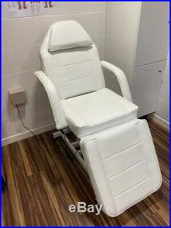 Wido White Electric Massage Couch Bed